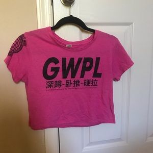 GWPL Global crop top